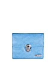 Bern Women Blue Wallet