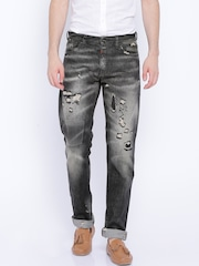 Jack & Jones Black Mike Comfort Fit Jeans