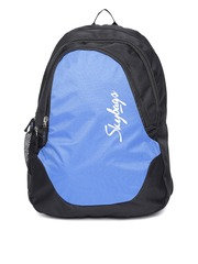 Skybags Unisex Blue & Black Groove 2 Backpack