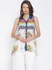 BIBA Multicoloured Printed High-Low Tunic