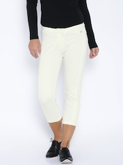 Arrow Woman Off-White Trousers
