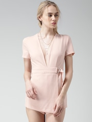 FOREVER 21 Peach-Coloured Playsuit