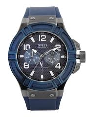 GUESS Men Navy Dial Watch W0248G5