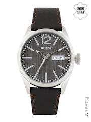 GUESS Men Brown Dial Watch W0658G3