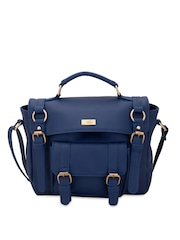 yelloe Blue Satchel