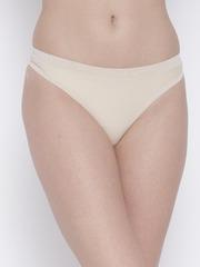 Amante Women Beige Thongs PAN11407