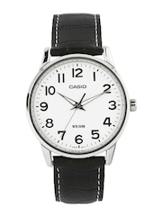 Casio Classic Men White Dial Watch A497