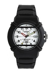 Casio Youth Men White Dial Watch A509