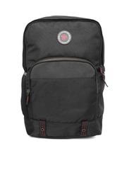 Roadster Unisex Black Backpack