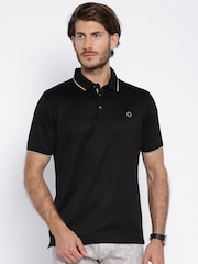 Proline Black Polo T-shirt