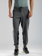 HRX by Hrithik Roshan Charcoal Grey Active Track Pants