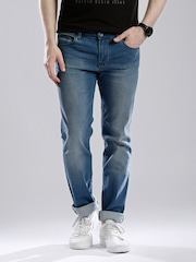 Calvin Klein Jeans Blue Washed Body Fit Jeans