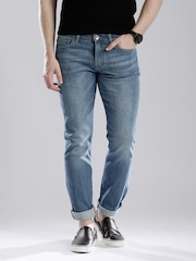 Calvin Klein Jeans Blue Washed Skinny Jeans
