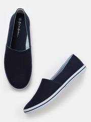 Mast & Harbour Men Navy Loafers