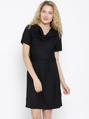 United Colors of Benetton Black Tailored Dress