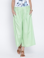 United Colors of Benetton Green Palazzo Trousers