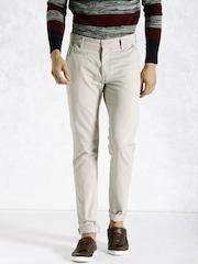 Roadster Beige Trousers