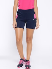 SDL by Sweet Dreams Navy Active Slim Fit Shorts