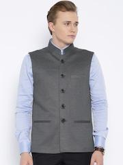 Four One Oh Grey Nehru Jacket