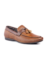 Fentacia Men Brown SemiFormal Shoes