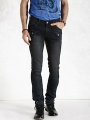Roadster Black Skinny Fit Jeans