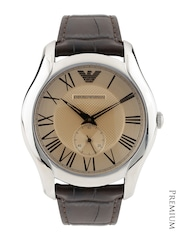 Emporio Armani Men Gold-Toned Dial Watch AR1704I