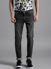 Kook N Keech Marvel Charcoal Grey Skinny Jeans