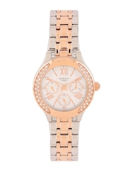 CASIO Sheen Women Silver-Toned Embellished Dial Watch SX176