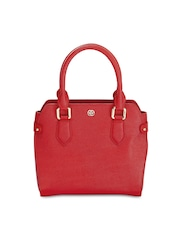 Eske Red Leather Handbag