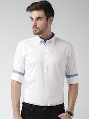 Mast & Harbour White Tunic Shirt