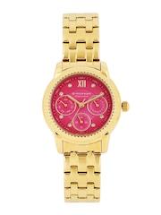GIORDANO Premier Women Pink Dial Watch P2045-22