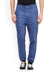 Hypernation Blue Slim Fit Jogger Trousers