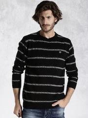 Roadster Black & White Sweater