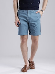 Tommy Hilfiger Blue Printed Classic Fit Shorts