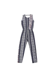 ONLY Women Blue Printed Jumpsuit