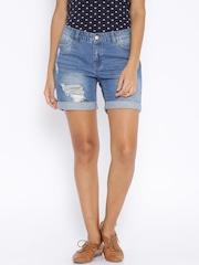 ONLY Blue Denim Shorts