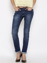 Pepe Jeans Blue Washed Chelsea Fit Jeans