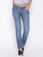 Pepe Jeans Blue Washed Frisky Slim Fit Jeans