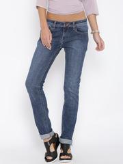 Pepe Jeans Blue Washed Frisky Fit Jeans