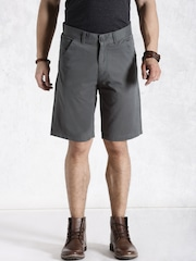 Roadster Charcoal Grey Shorts
