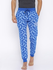 SDL by Sweet Dreams Blue Printed Pyjamas
