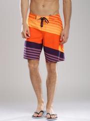Quiksilver Orange & Purple Board Shorts