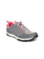 Columbia Women Grey Conspiracy Razor Sports Shoes