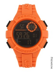 Superdry Men Orange Radar Chronograph Digital Watch SYG193O