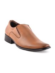 Bruno Manetti Men Tan Brown Semiformal Shoes