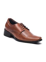 Bruno Manetti Men Tan Brown Formal Shoes
