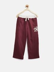 Tommy Hilfiger Boys Burgundy Sweat Pants