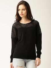 DressBerry Women Black Sweater