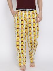 Smugglerz Orange & Yellow Printed Pyjamas HAVANA
