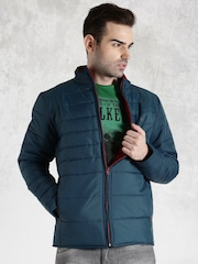 Roadster Blue Quilted Jacket